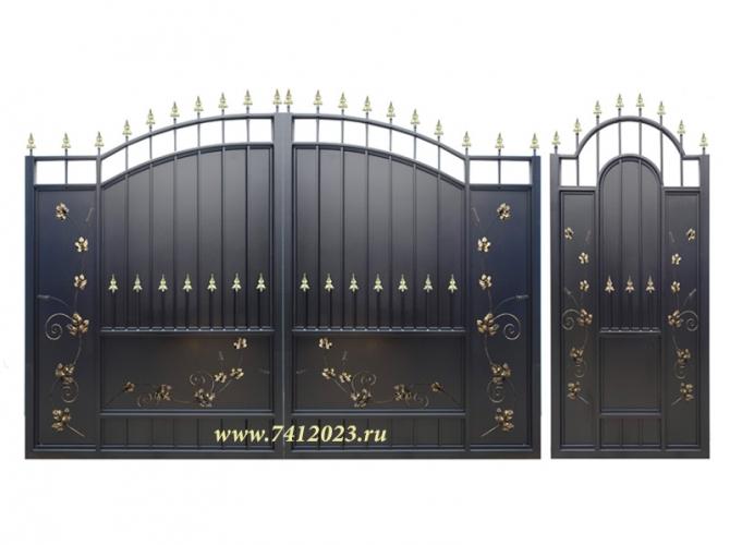 Ворота   № 15 Лоза - 7412023.ru