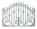 Кованый забор секция КА-15.1 - 7412023.ru