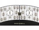 Ворота кованые №23 - 7412023.ru