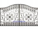 Ворота кованые №43 - 7412023.ru