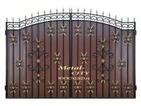 Ворота - (3,34 х 2,35 м) - 7412023.ru