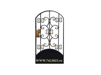 Калитка к кованым воротам №9/3 - 7412023.ru