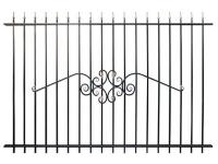 Кованый забор секция К-15.1 - 7412023.ru