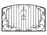Кованый забор секция КА-15.2 - 7412023.ru