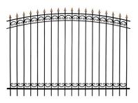 Кованый забор секция КА-15.5 - 7412023.ru