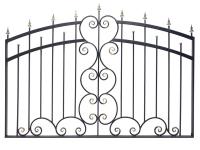 Кованый забор секция КА-15.7 - 7412023.ru