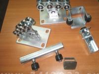 Монтажный комплект откатных ворот (Alutech эко 6м) 400кг - 7412023.ru